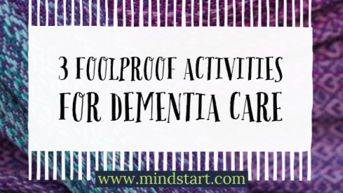 activities that work for dementia care