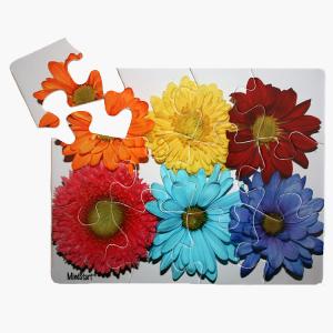 large piece Flower puzzle for dementia