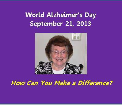 World Alzheimer Day Activities