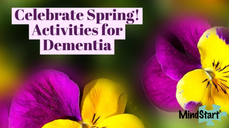 dementia activities for spring